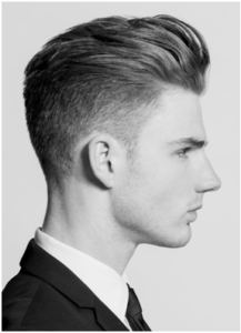 hair layered undercut